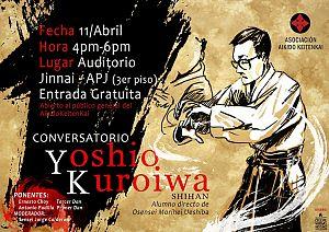 Afiche Yoshio Kuroiwa Shian