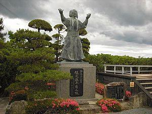 o sensei estatua